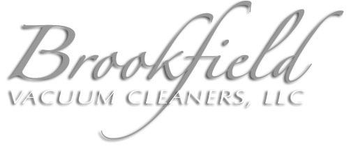 Brookfield Vacuum Cleaners, LLC logo for central vacuums, household uprights, canisters, commercial vacuums